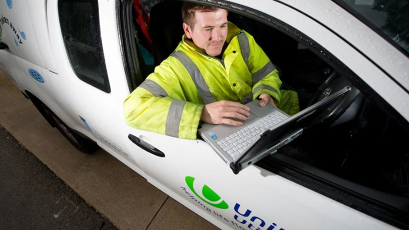 United Utilities water support