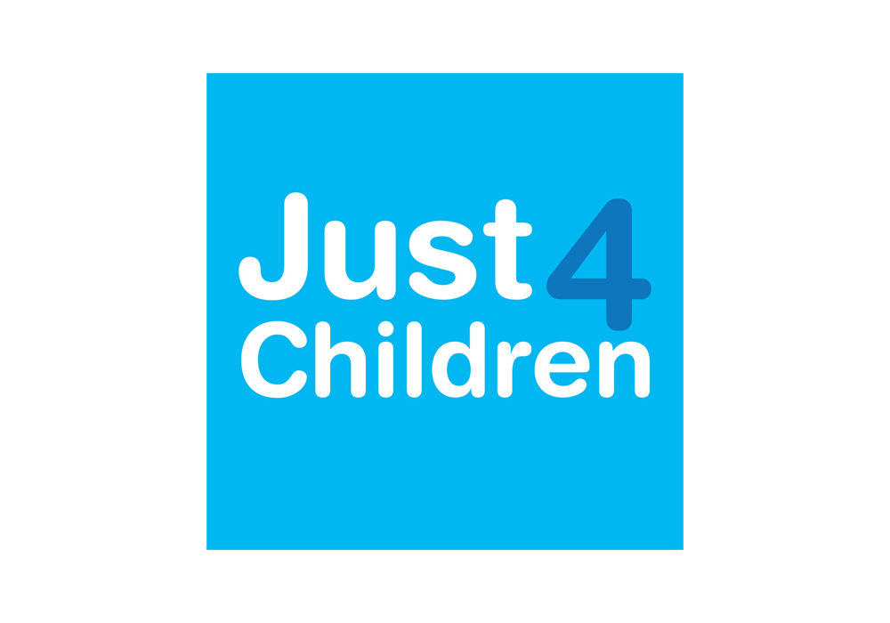 Just4Children Logo recite website