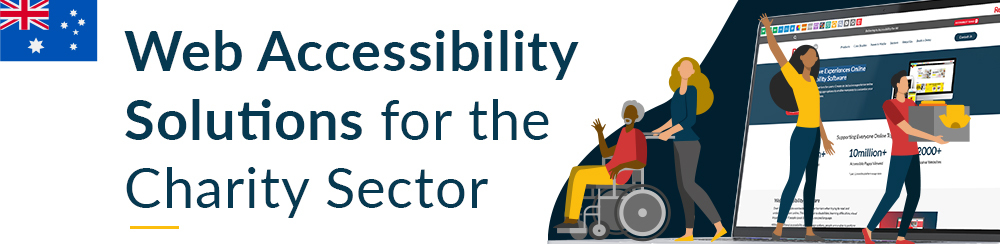 Web accessibility solutions for the charity sector