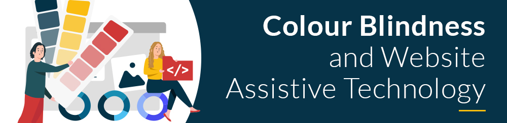 Colour blindness and website assistive technology