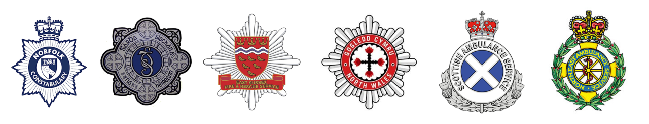 emergency services logos