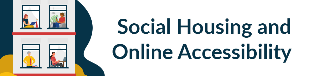 Social housing and online accessibility