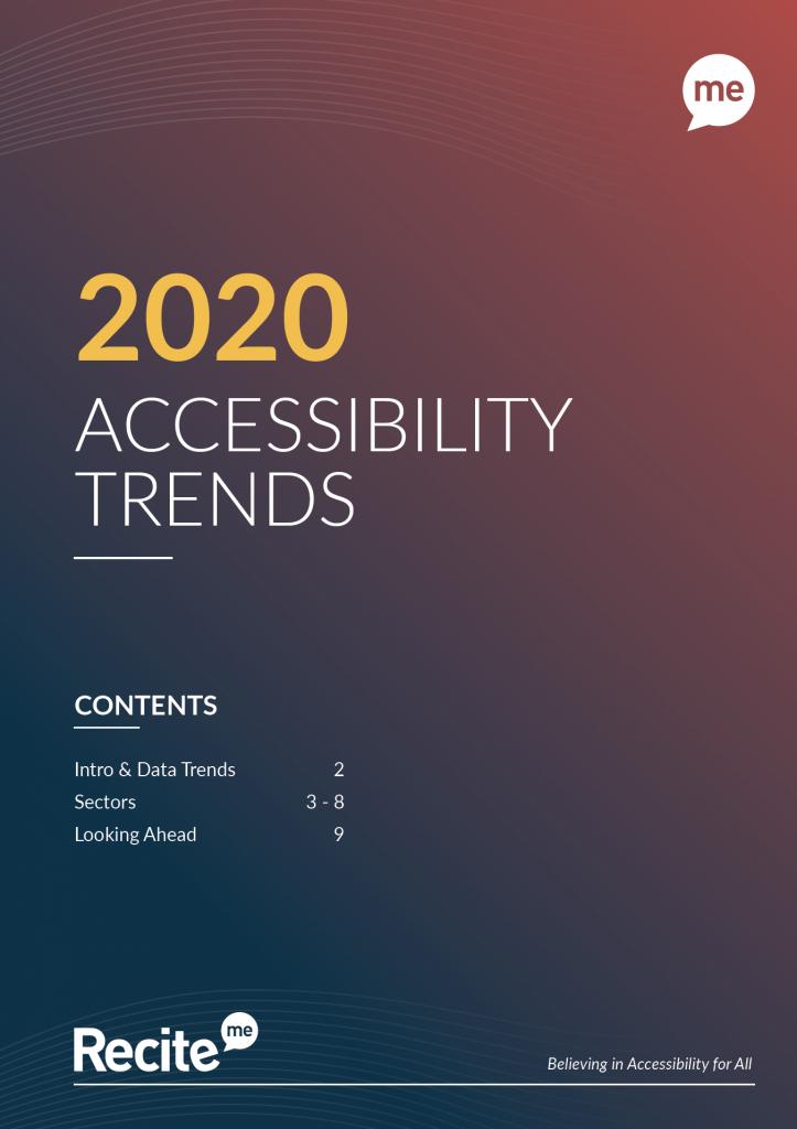 recite accessibility trends cover